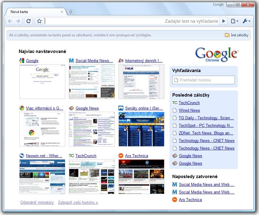 Novy Google Chrome 3 Je Na Svete Pysi Sa Mnozstvom Vylepseni Na